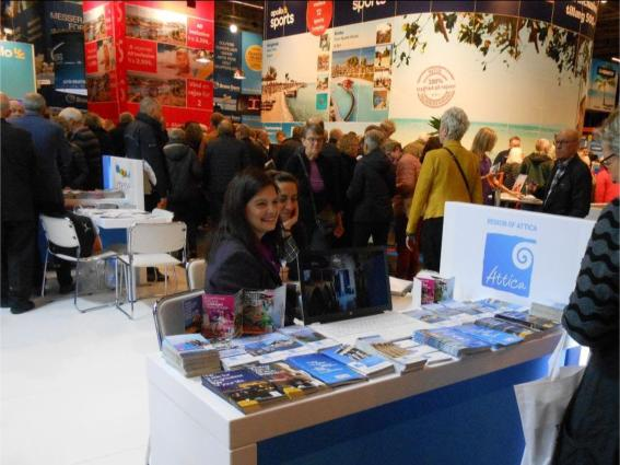"Tourism in Attica at the Danish Tourism Exhibition ""Ferie For Alle 2019"""