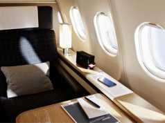 SWISS A340- First Class