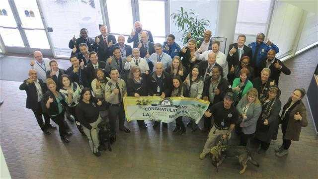 LAWA RECOGNIZES GOLD-STANDARD EMPLOYEES AND PARTNERS AT FIRST LAX GOLD STAR AWARDS CELEBRATION
