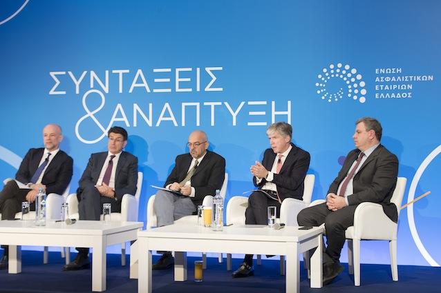 Ημερίδα με θέμα «Συντάξεις και Ανάπτυξη» της Ένωσης Ασφαλιστικών Εταιριών Ελλάδος (ΕΑΕΕ)
