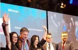 Οι αεροπορικές εταιρείες ψηφίζουν ξανά το αεροδρόμιο της Αθήνας στην πρώτη θέση!