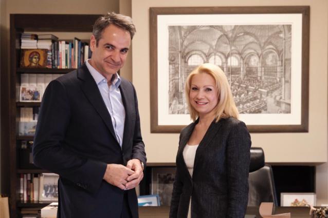 Υποψήφια Βουλευτής Ζακύνθου της ΝΔ κ. Χριστίνα Τετράδη