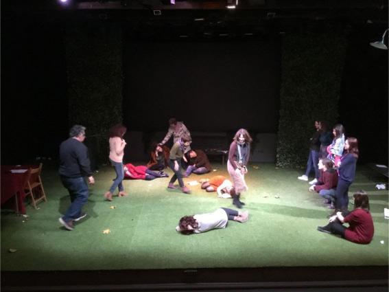 Το Κέντρο Σπουδών Λαϊκού Θεάτρου Στη Σμύρνη για την υλοποίηση του SEDIN PROJECT