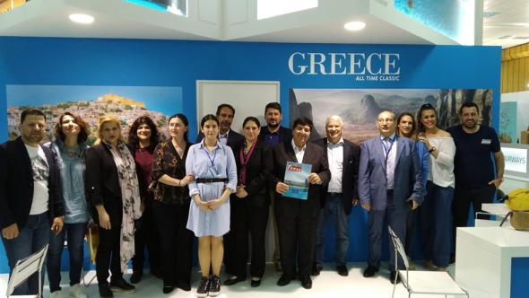 Κύπρος: Εντυπωσίασε η παρουσία του ΕΟΤ στην Έκθεση «ΤΑΞΙΔΙ 2019»