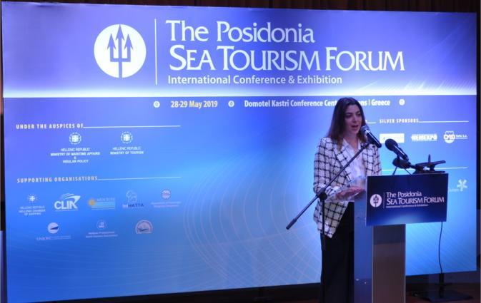 κα Μαρία Δεληγιάννη, Εκπρόσωπο Κυβερνητικών και Δημοσίων Υποθέσεων Ανατολικής Μεσογείου, CLIA