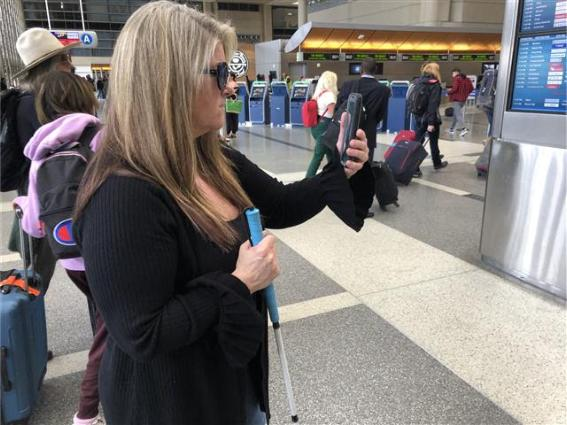 LAWA LAUNCHES NEW APP TO HELP BLIND AND LOW VISION GUESTS NAVIGATE LAX WITH A SMARTPHONE AND VIRTUAL GUIDE