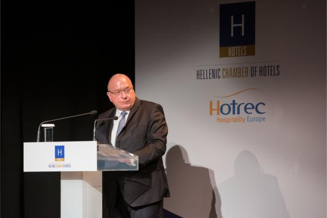 Πρόεδρος της HOTREC κ. Jens Zimmer Christensen