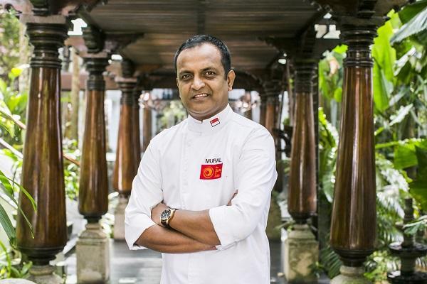 MANJUNATH MURAL: Singapore - 1 Michelin Star