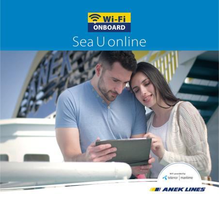 Ταξιδέψτε με ANEK LINES και σερφάρετε με το αναβαθμισμένο WiFi On Board