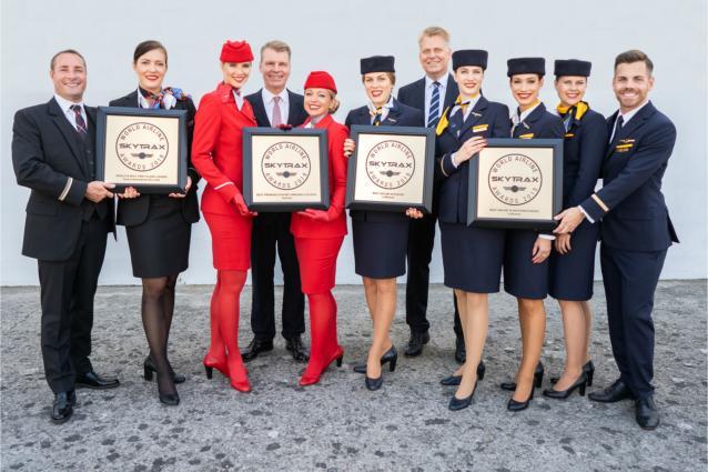 Ο Όμιλος Lufthansa κερδίζει τέσσερα αεροπορικά βραβεία
