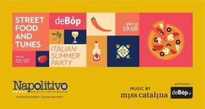 Street Food and Tunes present - The Italian Summer Party