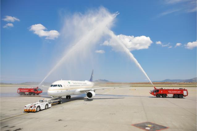 Η Saudi Arabian Airlines ενώνει την Αθήνα με το Ριάντ!