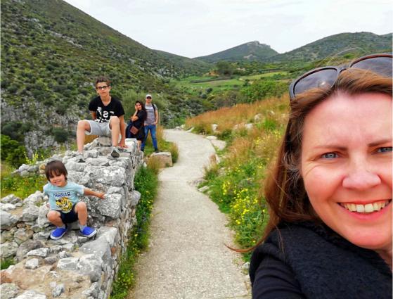"""H Oλλανδή Blogger, Sharon Nehoray """"ψήφισε"""" Θεσσαλονίκη για οικογενειακό τουρισμό"""