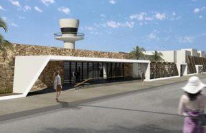 Παρουσίαση των νέων σχεδίων του αεροδρομίου της Μυκόνου από την Fraport Greece
