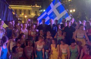 Συνάντηση του δημάρχου Αθηναίων Γιώργου Μπρούλια με τον Βέλγο πρέσβη Luc Liebaut