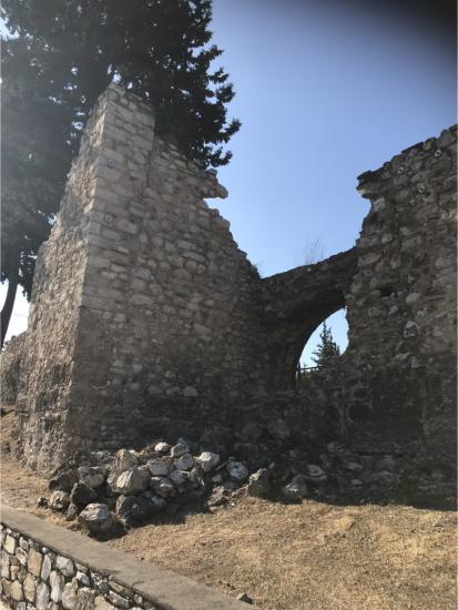 Αποτίμηση ζημιών στη Μονή Δαφνίου