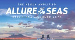 Το Allure Of The Seas θα αναχωρεί από τη Βαρκελώνη από τον Μάιο του 2020 με νέες επιλογές διασκέδασης, γαστρονομίας και προσφέροντας νέες συγκινήσεις!