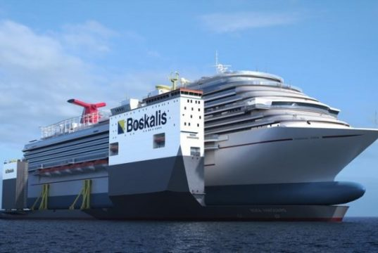 How The Carnival Vista Will Be Repaired