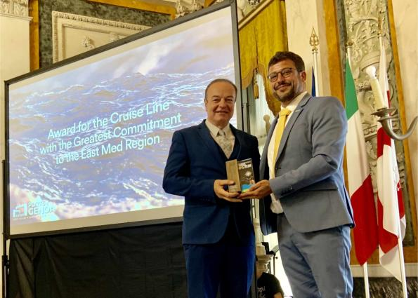Significant distinction for Celestyal Cruises at the Mare Nostrum Awards 2019