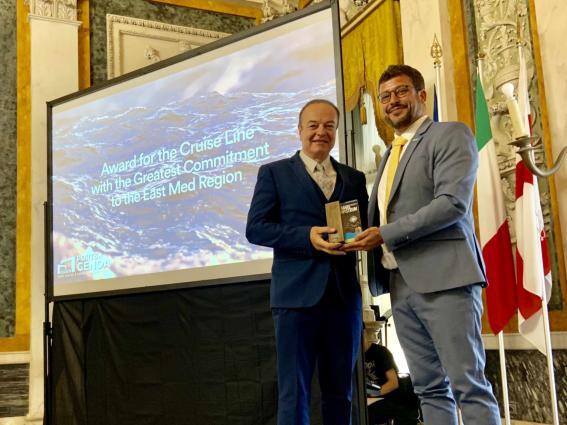 Σημαντική διάκριση για τη Celestyal Cruises στα Mare Nostrum Awards 2019