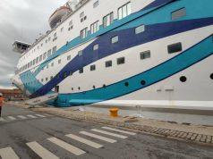 Περισσότερους από 1600 τουρίστες αποβίβασε στο λιμάνι της Θεσσαλονίκης το κρουαζιερόπλοιο Crown Iris