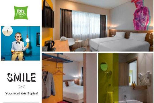 New opening for the ibis Styles family in Greece with the ibis Styles Athens Routes