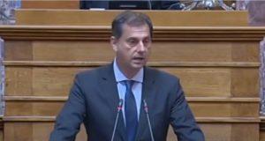 Τοποθέτηση του υπουργού Τουρισμού κ. Χάρη Θεοχάρη στη Διαρκή Επιτροπή Δημόσιας Διοίκησης, Δημόσιας Τάξης και Δικαιοσύνης της Βουλής επι των διατάξεων του Υπουργείου Τουρισμού