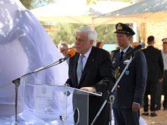 Επίσκεψη Προέδρου Δημοκρατίας στη Νάξο για να παραστεί και να τελέσει τα αποκαλυπτήρια του μνημείου του Σμυριδεργάτη