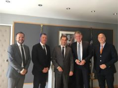 «Η Ελλάδα βρίσκεται στο επίκεντρο της αναπτυξιακής στρατηγικής της TUI» κος Fritz Joussen Διευθύνων Σύμβουλος του Ομίλου TUI - Συνάντηση με τον νέο Υπουργό Τουρισμού στην Αθήνα