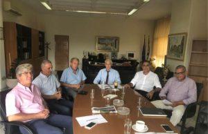 Θέμα: Συνάντηση εργασίας με τον Αντιπεριφερειάρχη Ανατολικής Αττικής για τα έργα του Δήμου Σαρωνικού