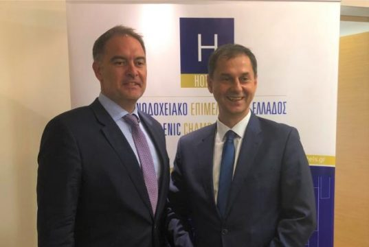 Ο Υπουργός Τουρισμού στο Δ.Σ του Ξενοδοχειακού Επιμελητηρίου Ελλάδος