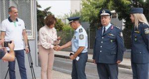 Ο Οργανισμός Τουρισμού Θεσσαλονίκης δώρισε αυτοκίνητο στην τουριστική αστυνομία