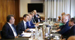 Συνάντηση Προέδρων Ενώσεων Μελών ΣΕΤΕ με την ηγεσία του Υπουργείου Τουρισμού