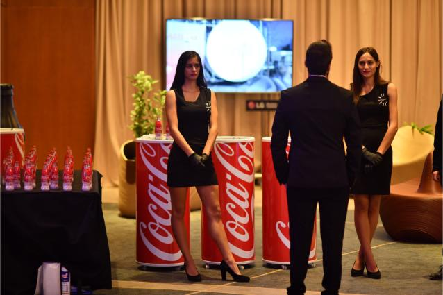 Δυναμικό το παρών της Coca-Cola στο συνέδριο του ΣΕΤΕ