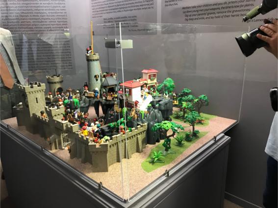 Το '21 Αλλιώς. Η Ελληνική Επανάσταση σε διοράματα Playmobil