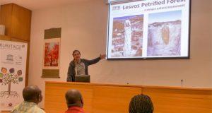 Ζούρος - Αντιπροσωπεία Κένυα - Γνωριμία με το Απολιθωμένο Δάσος Λέσβου - Mentoring UNESCO