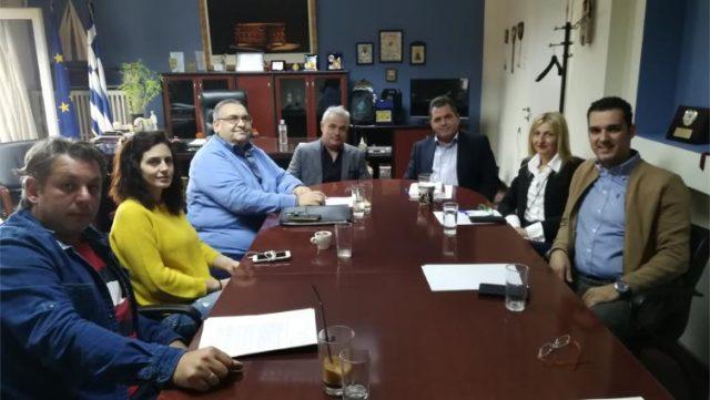 Συνάντηση Αντιπεριφερειάρχη Ημαθίας με την Ένωση Ξενοδόχων Ημαθίας