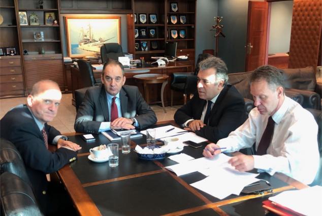 Συνάντηση Μάνου Κόνσολα και Κωνσταντίνου Λούλη με τον Υπουργό Ναυτιλίας. Αυξάνεται το κονδύλι για τις άγονες γραμμές, ανοίγει ο δρόμος για την αναβάθμιση των υπηρεσιών στην κρουαζιέρα