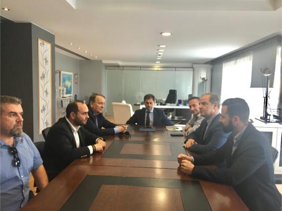 Συνάντηση και επίλυση θεμάτων για τα Λουτρά Πόζαρ