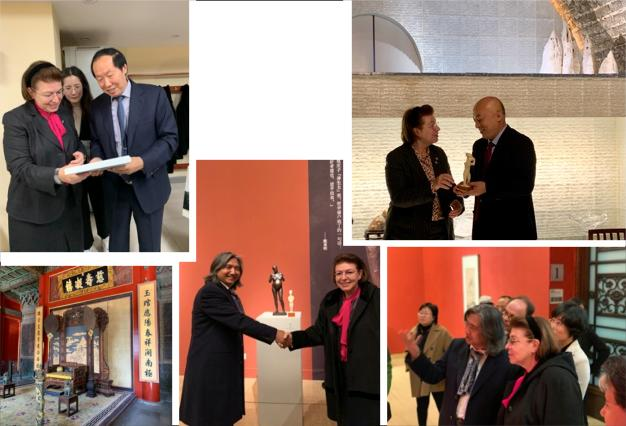Συνεργασίες της Υπουργού Πολιτισμού και Αθλητισμού στο Πεκίνο