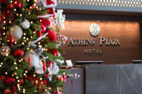 Celebrate Christmas and New Year at the NJV Athens Plaza