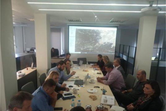 Σύσκεψη του Διευθύνοντος Συμβούλου της ΕΤΑΔ Α.Ε. για τη λειτουργία του Χιονοδρομικού Κέντρου Παρνασσού