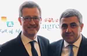 Γιώργος Τζιάλλας, Zurab Pololikashvili, Γ.Γ. ΠΟΤ