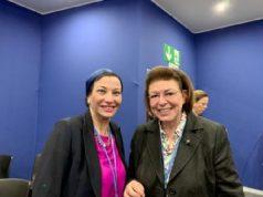 Δρ Yasmine Fouad υπουργός περιβάλλοντος της Αιγύπτου, Λίνα Μενδώνη