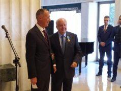 Εκδήλωση προς τιμή του Νικόλαου Δασκαλαντωνάκη στην Ρωσική Πρεσβεία από τον Πρέσβη Αντρέι Μάσλοβ
