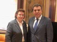 Συνάντηση του Υφυπουργού Τουρισμού κ. Κόνσολα με την Υπουργό Πολιτισμού κα. Μενδώνη