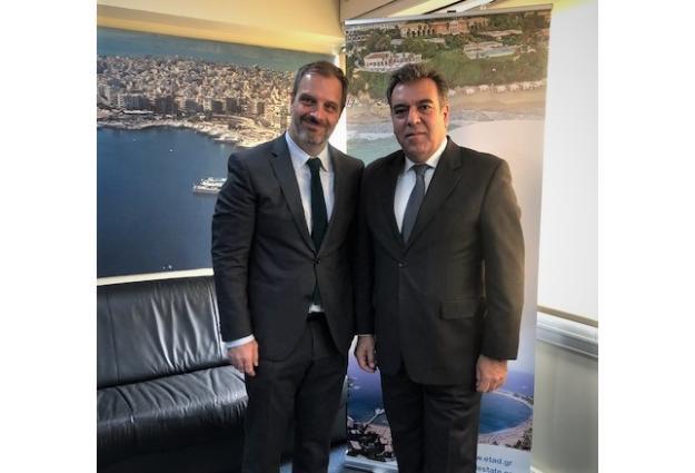 Συνάντηση του Μάνου Κόνσολα με τον Δ/ντα Σύμβουλο της ΕΤΑΔ