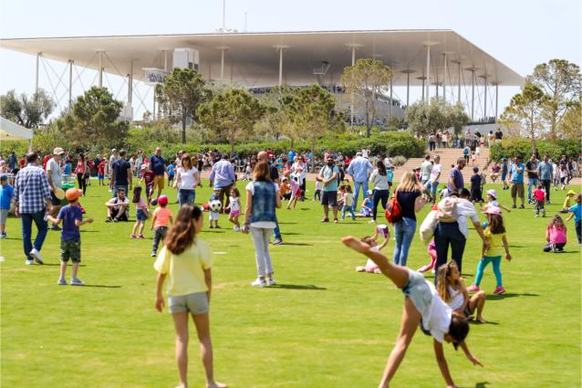 Stavros Niarchos Park - The Great Lawn
