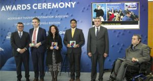 UNWTO AND FUNDACIÓN ONCE DELIVER INTERNATIONAL RECOGNITION OF 'ACCESSIBLE TOURIST DESTINATIONS' AT FITUR