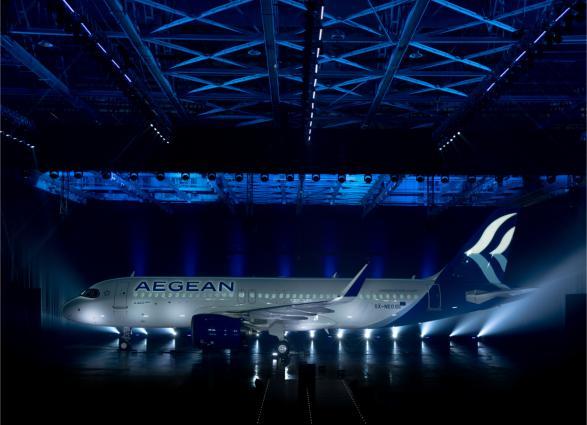 ΑΕGEAN' s Airbus Α320neo